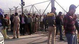 اعتصاب صدها کارگر پیمانی فازهای ۱۵ و ۱۶ منطقۀ عسلویه