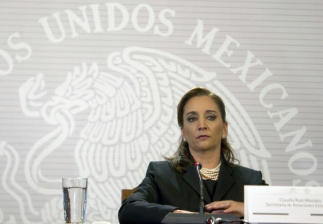 Ministar harkokin wajen Mexico Claudia Ruiz Massieu