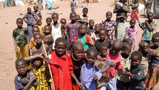 Des enfants déplacés à Kabo, dans le nord de la République centrafricaine