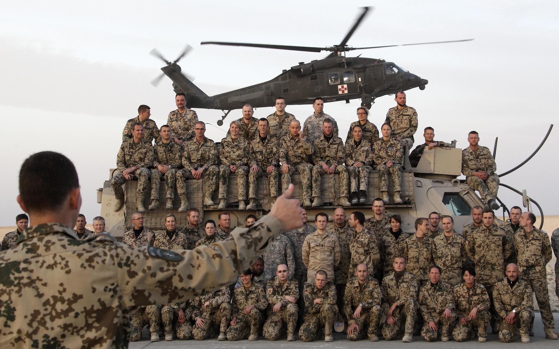 نیروهای امریکایی در افغانستان