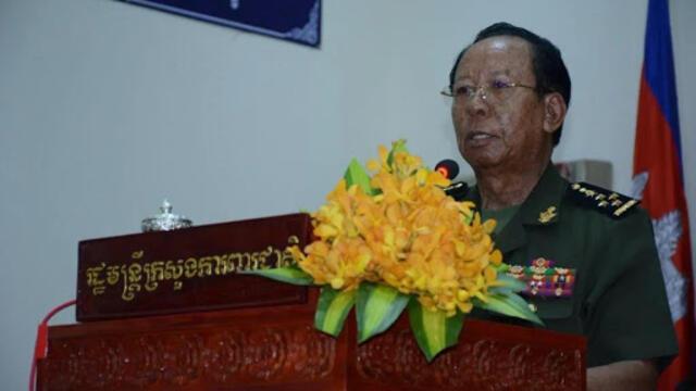 传美国摆脸色 柬埔寨暂停与中国联合军演(photo:RFI)