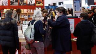 2019年巴黎書展於3月15號至18號舉行( 圖為2018年現場)