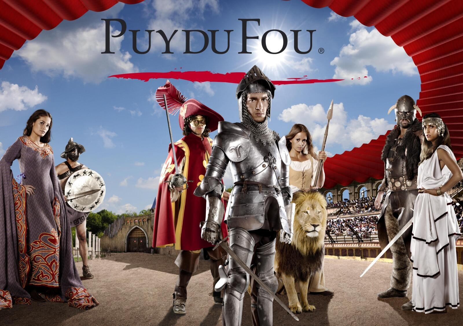 法國狂人國主題公園(Puy du Fou)廣告