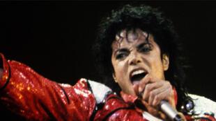 Michael Jackson en 1986.