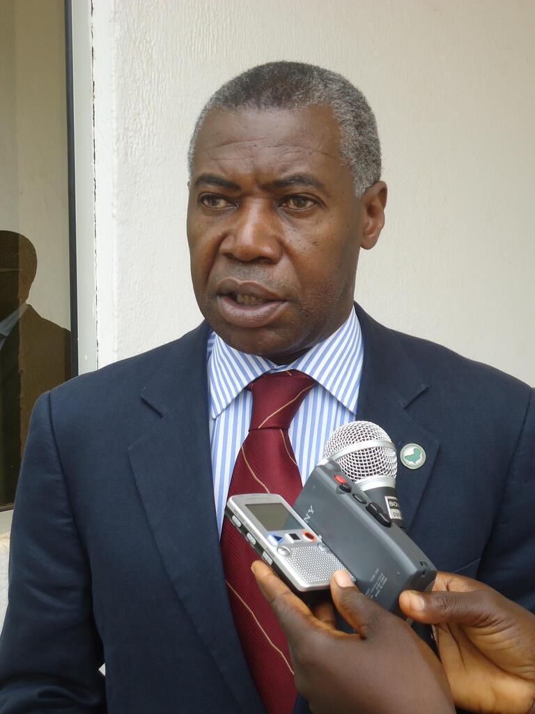 O representante especial da União Africana (UA) na Guiné-Bissau, Ovídio Pequeno