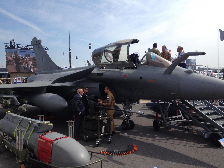 Caça Rafale, uma das estrelas da Força Aérea Francesa.