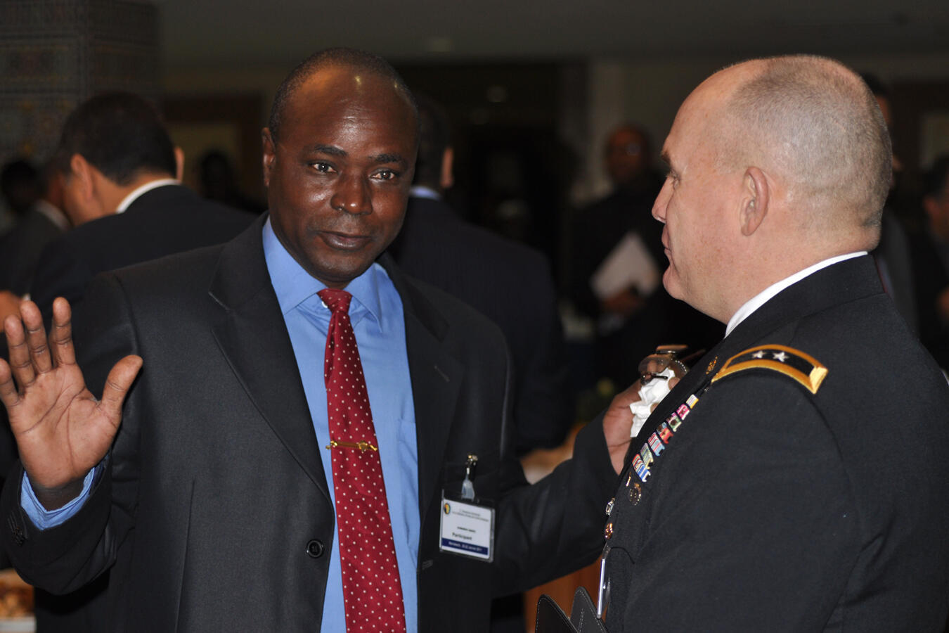 Le colonel-major Oumarou Sadou, ici au Forum de Marrakech sur la sécurité en janvier 2011.