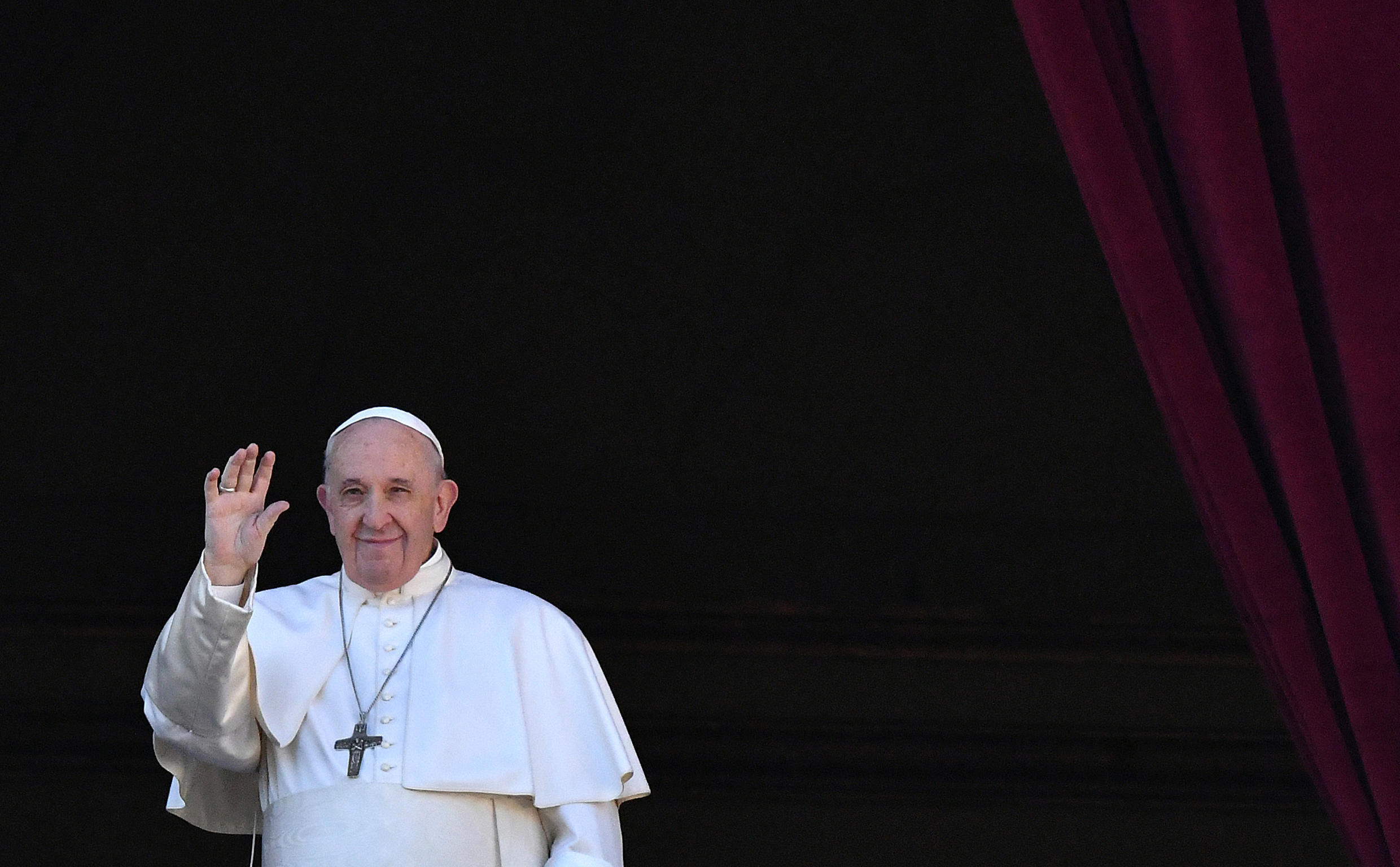 """In the film """"Francesco"""" by Evgeny Afineevsky, which premiered at the 2020 Rome Film Festival, Pope Francis says that gay people have """"the right to be in a family"""""""