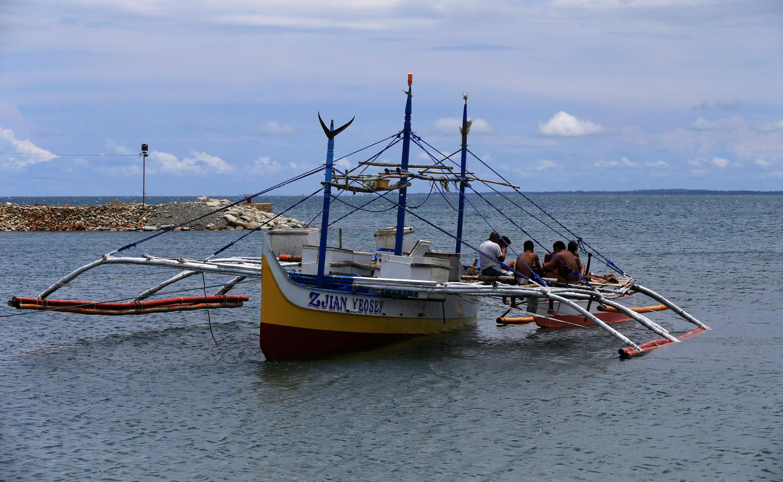 Tàu của ngư dân Philippines ảnh chụp ngày 06/07/2016.