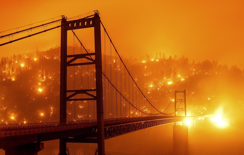 Les incendies ravagent la Californie, le 9 septembre 2020.