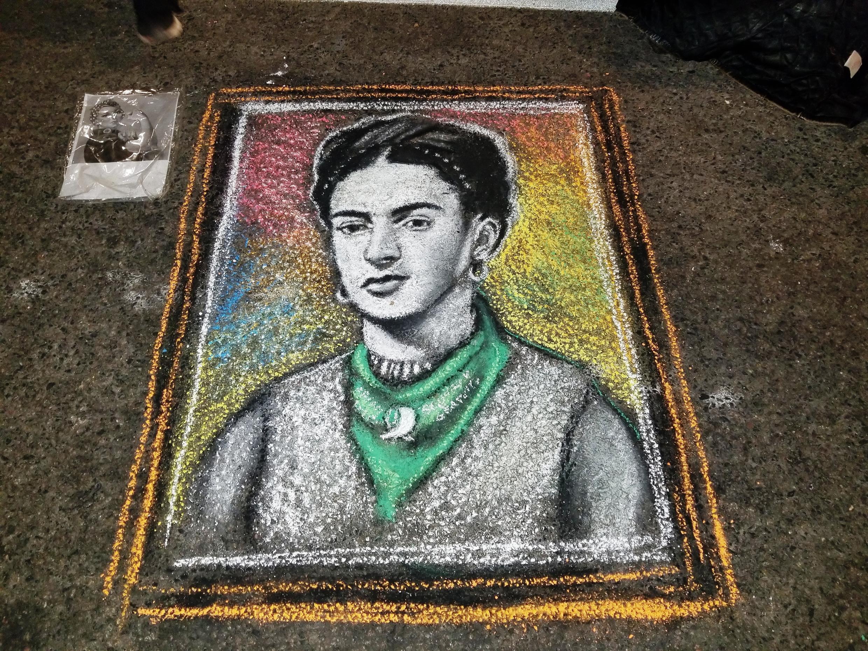 Frida Kahlo pela legalização do aborto