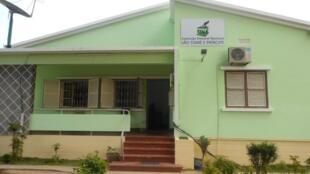 Sede da Comissão nacional de eleições em S. Tomé e Príncipe, que se prepara para legislativas