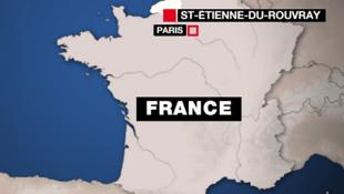 L'attaque a eu lieu dans une église de Saint-Etienne-du-Rouvray.