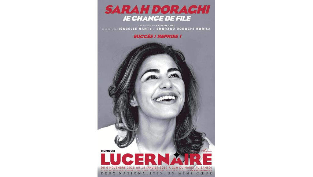 Le spectacle de Sarah Doraghi «Je change de file» se joue jusqu'au 4 février au théâtre du Lucernaire, à Paris.