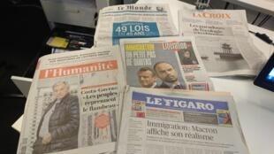 Diários franceses 06 11 2019