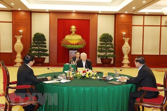 SKT-2021-09-27-top-vietnamese-cambodian-lao-leaders-meeting_sMLlcjC
