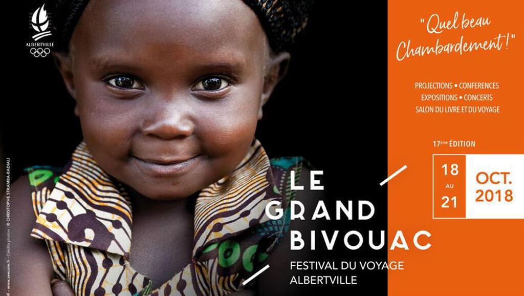 Affiche «Le Grand Bivouac», Albertville, du 18 au 21 octobre 2018.