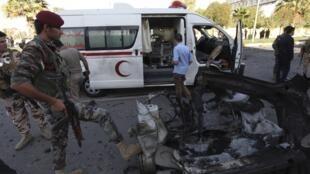 Quatre véhicules piégés ont explosé près du QG des services de sécurité à Erbil, en Irak.