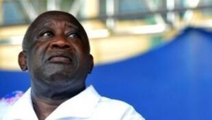 Rais wa zamani wa Cote D' Ivoire Laurent Gbagbo