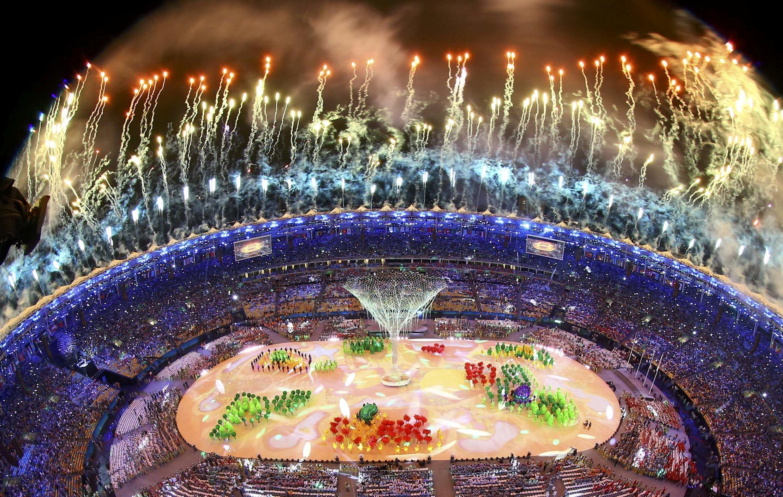 Cerimónia de Encerramento dos Jogos Olímpicos.