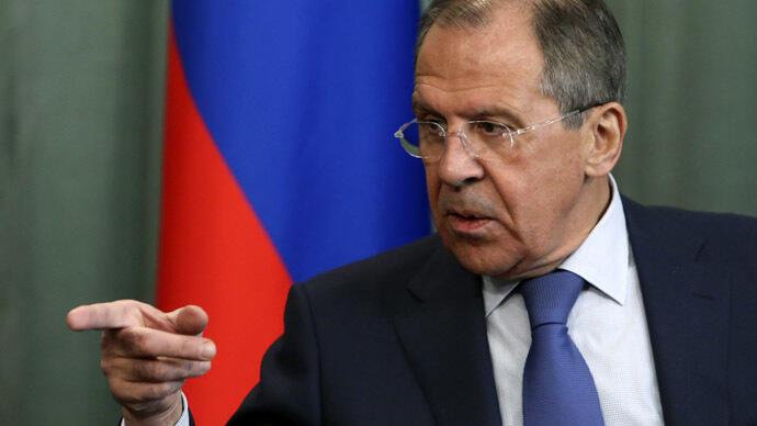 Ministan harkokin wajen Rasha Sergei Lavrov.