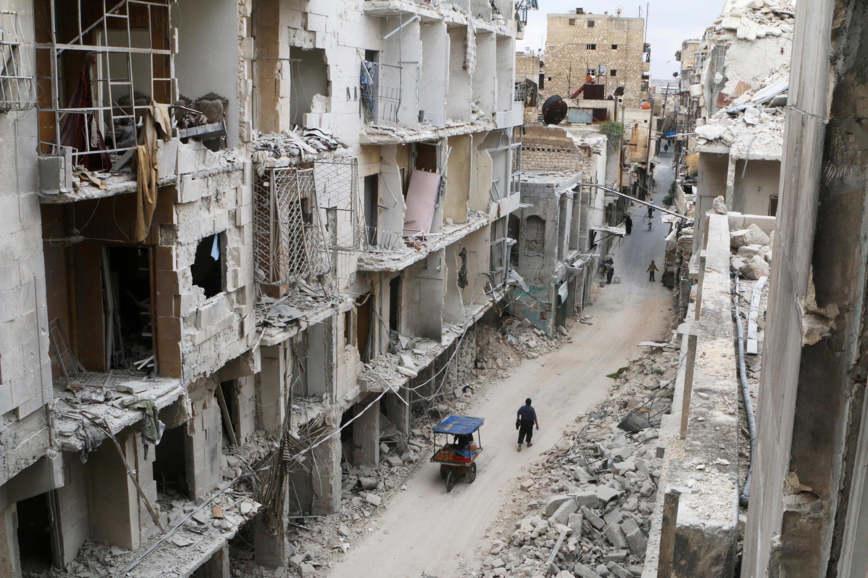 Chế độ Damas sắp chiếm lại được toàn bộ thành phố Aleppo.
