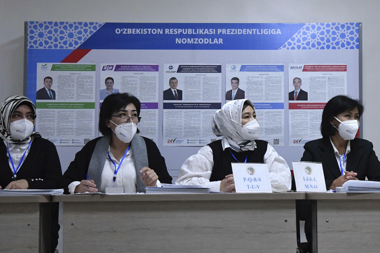 ouzbekistan élection
