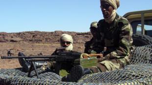 Créé en 2008, le GSI est une unité mobile chargée de quadriller le désert de Ouadane à la frontière malienne pour prévenir toute infiltration terroriste.
