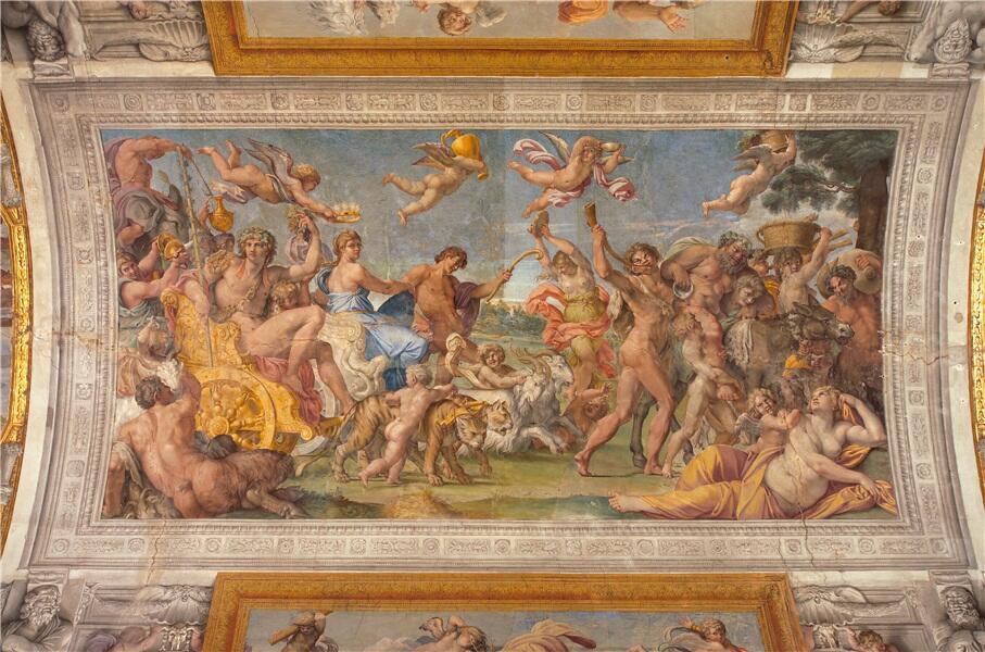 La galerie des Carrache, l'un des joyaux du Palais.