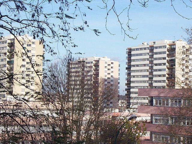 The Cité des Larris housing estate in Fontenay-sous-Bois