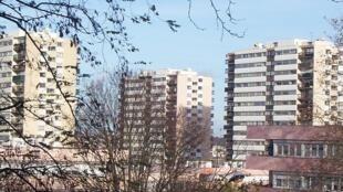 Cité des Larris, à Fontenay-sous-Bois dans le Val-de-Marne.