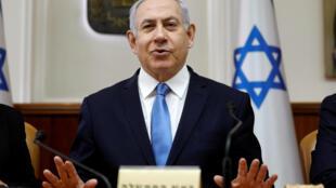Le chef du gouvernement israélien, Benyamin Netanyahu, le 10 mars 2019 à Jérusalem.