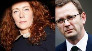 Rebekah Brooks e Andy Coulson deverão responder na Justiça britânica.
