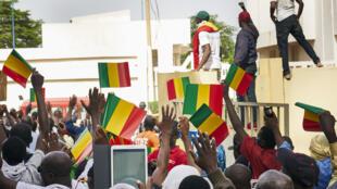Manifestation de l'opposition à Bamako, le 2 juin 2018.