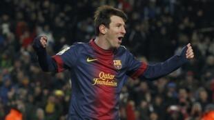 Dan wasan Barcelona, Lionel Messi