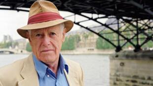 James Salter   نویسنده آمریکایی در پاریس