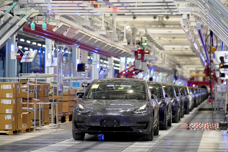 特斯拉中國生產的Model 3