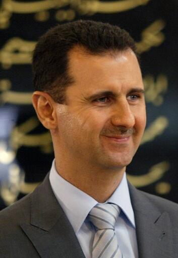 Shugaban kasar Syria Bachar al-Assad.