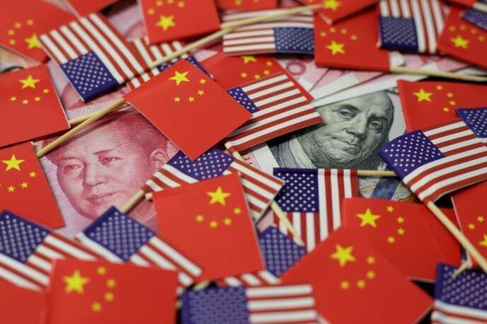 人民幣與美元示意圖