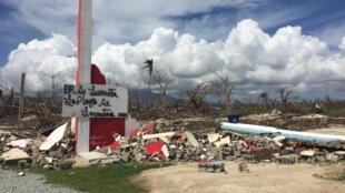 La violence de l'ouragan Maria a ravagé les Caraïbes, en 2017.