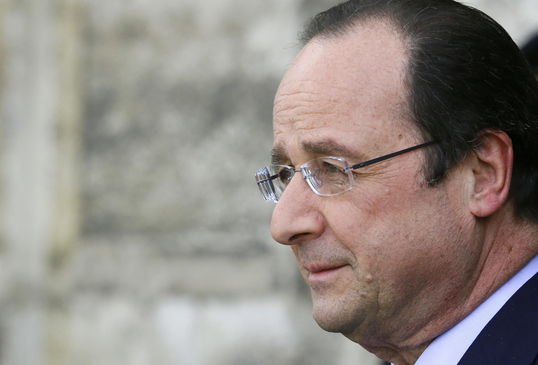 François Hollande, em imagem do dia 26 de março de 2014, em Paris.