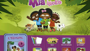 «Mia Moké» est la première application africaine dédiée au divertissement et à la connaissance de l'environnement à destination des enfants.