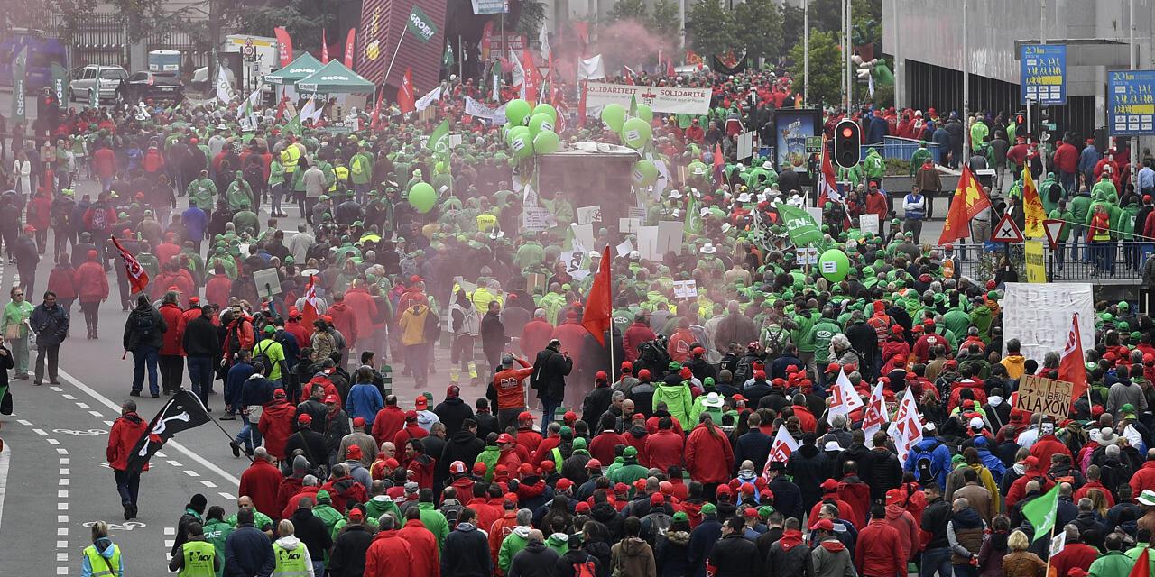 Watu 60,000 wamekusanyika katika mji wa Brussels wakipinga dhidi ya marekebisho ya sheria ya kazi Ubelgiji.
