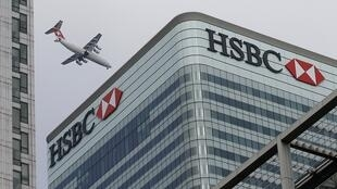 Sede social do HSBC, em Londres