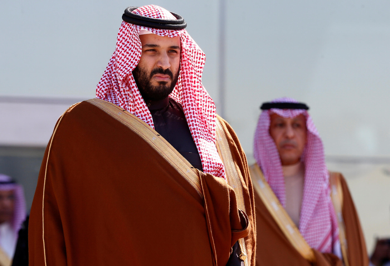 Le prince héritier d'Arabie saoudite, Mohammed ben Salman.