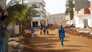 Le quartier de Yoff, à Dakar.