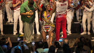 A paulistana Camila Silva foi consagrada neste fim de semana como a Rainha do Carnaval da Suécia.
