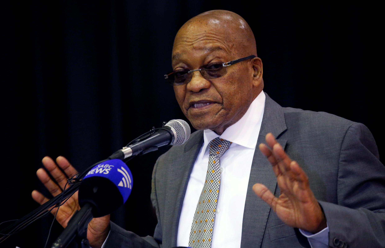 Le président sud-africain Jacob Zuma.
