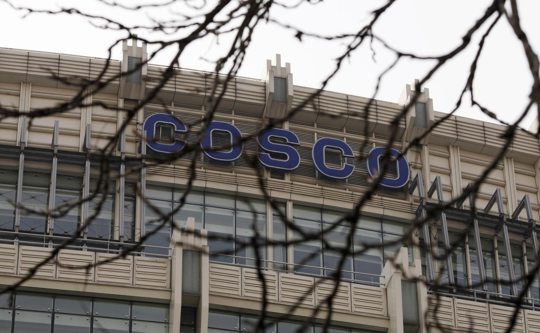 Trụ sở tập đoàn hàng hải COSCO tại Bắc Kinh - REUTERS /Barry Huang
