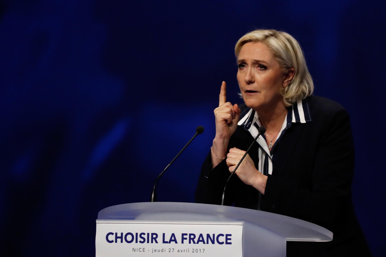 Marine Le Pen, 'Yar takarar Jam'iyyar FN masu kishin kasa a Faransa